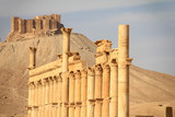 The ruins of the ancient city Palmyra, Syria - 175392570