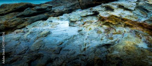 Tuinposter Edelsteen Abstract Rock Background