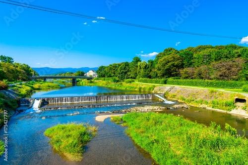 Keuken foto achterwand Kyoto 京都 鴨川