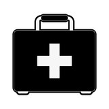 first aid kit healthcare related icon image vector illustration design - 175429917
