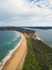 A view of Palm Beach from Barrenjoey Head.