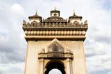 Pratuxai (The Victory Gate), the landmark of Vientiane, Lao