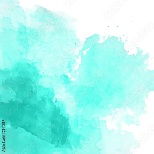 turkusowy-akwarela-tlo-wektor