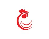 Rooster Logo Template - 175445302