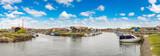 Oyster village in Arcachon Bay - 175450739