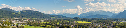 Papiers peints Photos panoramiques Panoramic view of Salzburg
