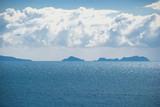 Seascape with islands. Mediterranean Sea near the town of Finike, Turkey. - 175460516