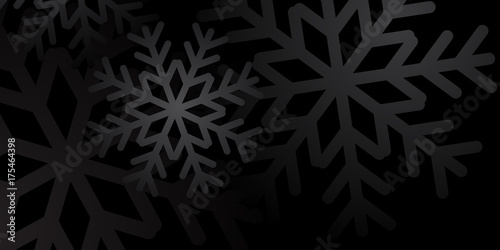 christmas winter background christmas snowflakes black and white snow elegant christmas background happy