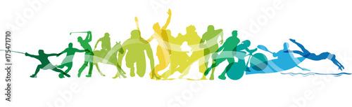 Olimpiadi, sport, gare, competizioni © elaborah