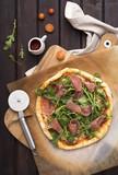 Arugula and Prosciutto Pizza - 175476101