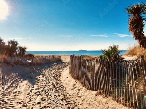 vacance mer plage cap d'agde france soleil