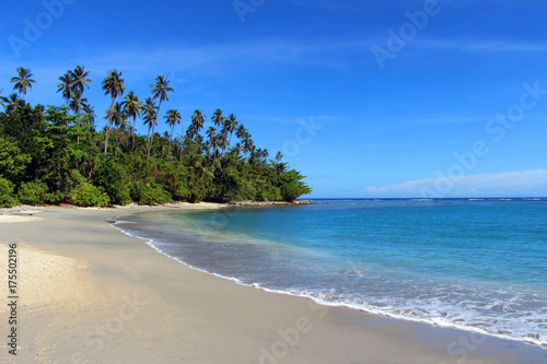 Tuinposter Tropical strand Tropical beach, Solomon Islands