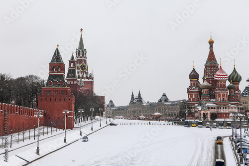 Foto op Plexiglas Moskou Red Square at Moscow, Russia