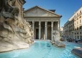 Pantheon Fountain, Rome - 175504101