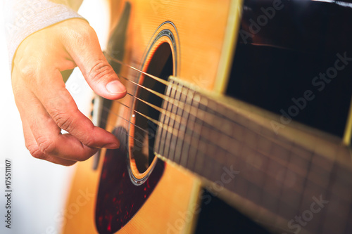 guitarist plays Poster