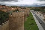 Avila medieval fortress wall, Castilla y Leon, Spain - 175529963