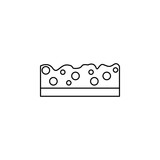 sponge icon - 175542120