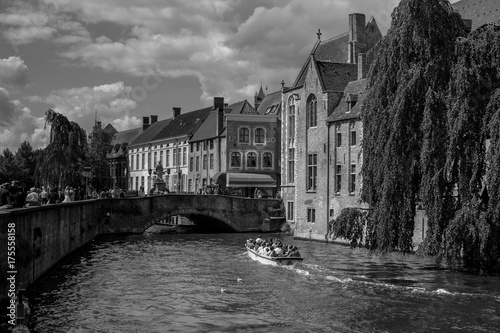 Spoed canvasdoek 2cm dik Brugge Brugge