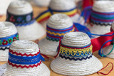 Traditional romanian hats for men from Maramures area. - 175558919