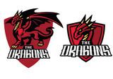 dragon mascot in set - 175562795
