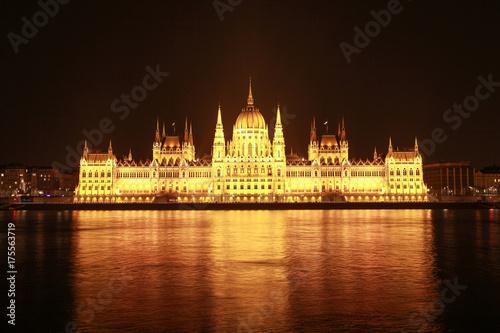 Budapest night - Hungary Poster