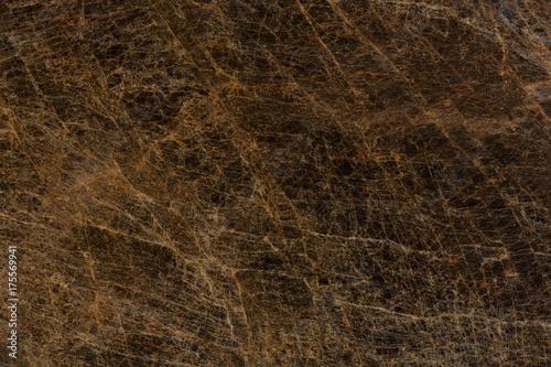 Close up of brown granite texture.