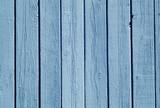 Blue color wood fence pattern. - 175571328
