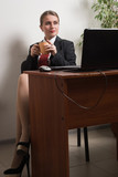 Attractive business woman - 175577777