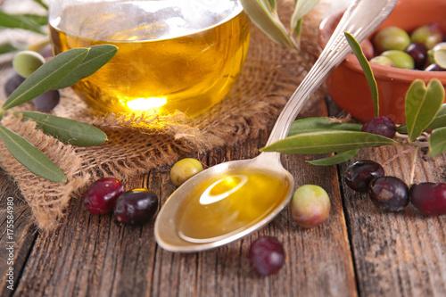 Spoed canvasdoek 2cm dik Wanddecoratie met eigen foto olive oil