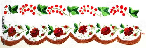 Ukrainian folk embroidery, handmade - 175587971