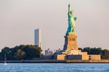 Statue of Liberty at sunrise, New York, USA - 175602762