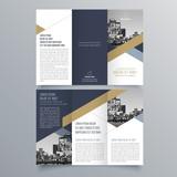 Brochure design, brochure template, creative tri-fold, trend brochure - 175606139