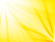 abstract rays yellow background