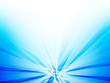 abstract rays blue background