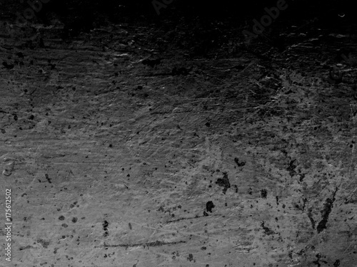 Dark black and white grunge background