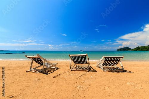 Staande foto Tropical strand Koh Mak Thailand