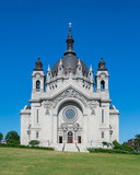 Exterior of the Cathedral of St. Paul in St Paul, Minnesota - 175617962