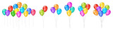 Vector colorful balloons illustrations - 175625154