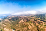 Coastline and mountains in Sausalito, aerial view - 175627734