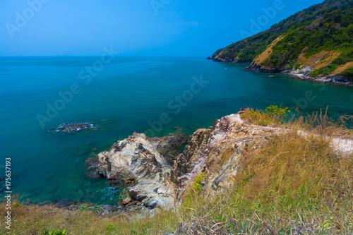 Aluminium Thailand The southern side of the Koh Lanta consists of rocks. Lanta National Park. Krabi, Thailand.