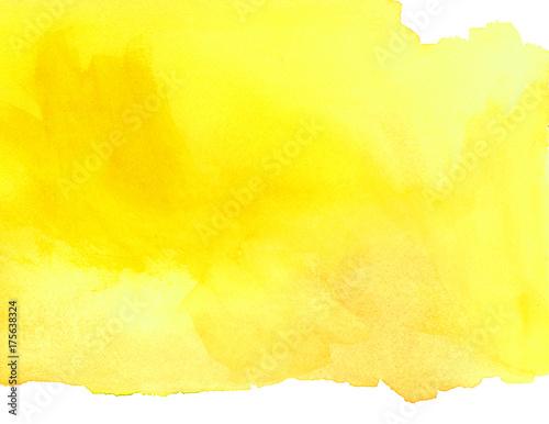 Leinwandbild Motiv Sunny Watercolor Wash