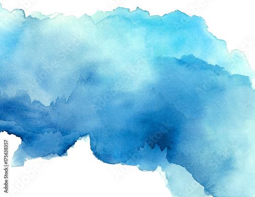 Leinwandbild Motiv Watercolor Background