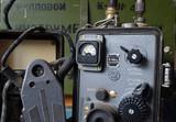 Soviet vintage military radio - 175643961