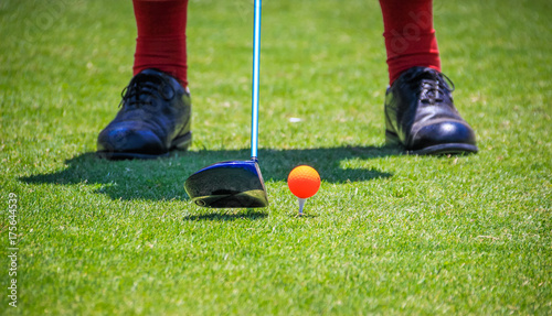 Foto op Canvas Gras Algarve Golf - Portugal