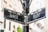 Schild 259 - Hektik - 175645399