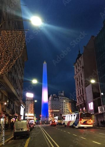 Keuken foto achterwand Buenos Aires Obelisco
