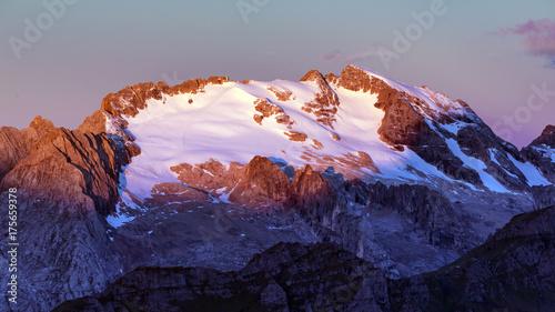 Keuken foto achterwand Donkergrijs montagna