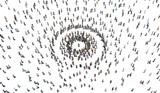 Persone, Emerginazione, Diversità, Isolamento, Illustrazione 3d - 175660788