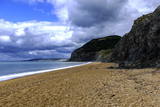 Jurassic Coast before storm, Dorset, UK - 175668524