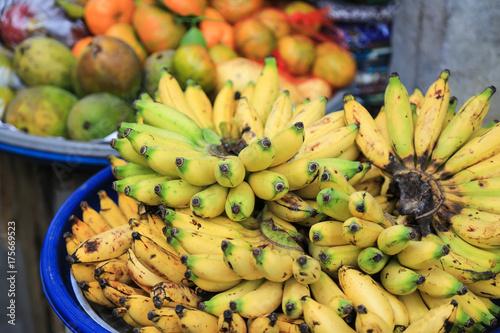 Bali: Reife Bananen auf dem Markt in Ubud